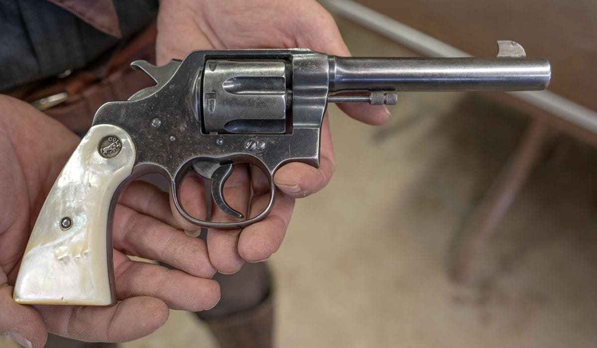 Colt 1892 chambered in .38-40