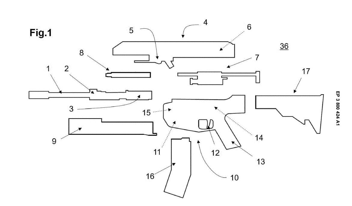 Glock Carbine Patent