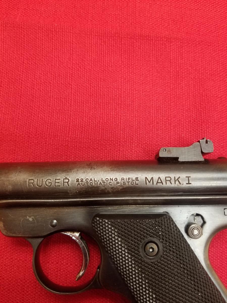 RUGER MARK I