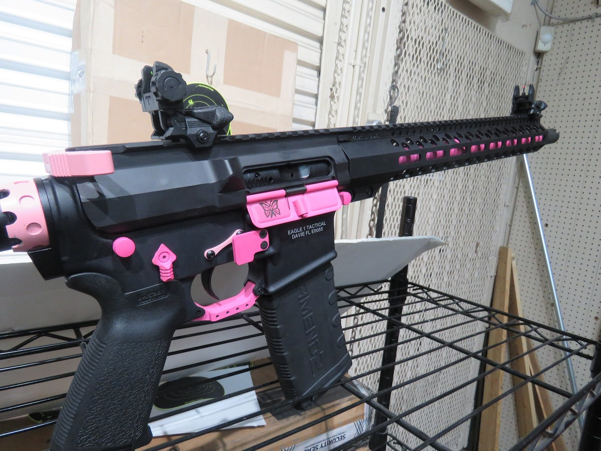 ANDERSON MFG. Eagle 1 Tactical Breast cancer Awareness