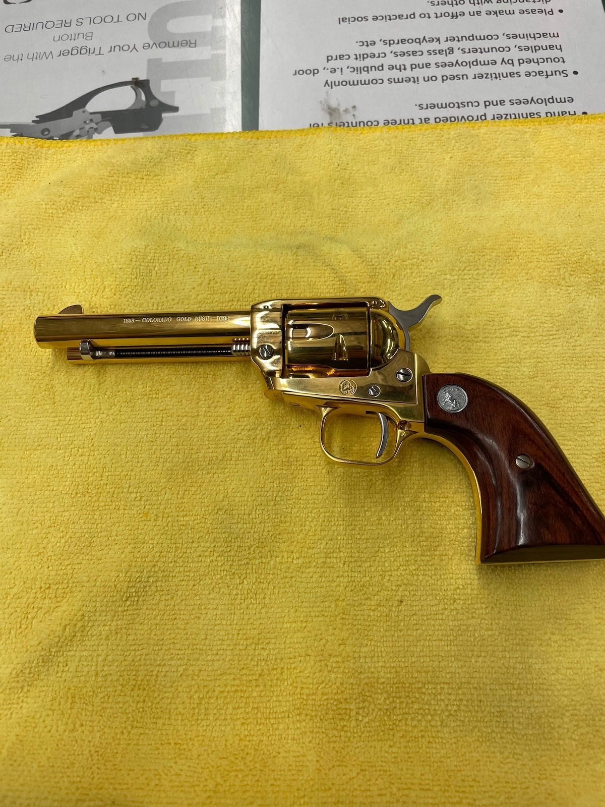 COLT 1858-colorado gold rush-1878