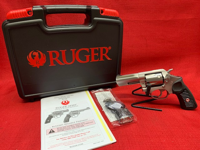 RUGER SP101 357 MAG DOUBLE-ACTION 5-ROUND REVOLVER 05719
