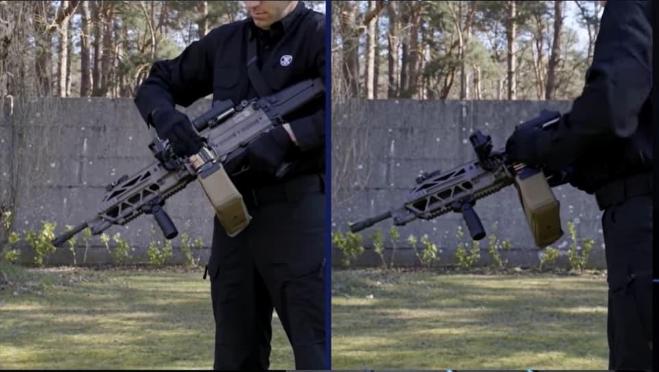 FN Evolys Machine Gun