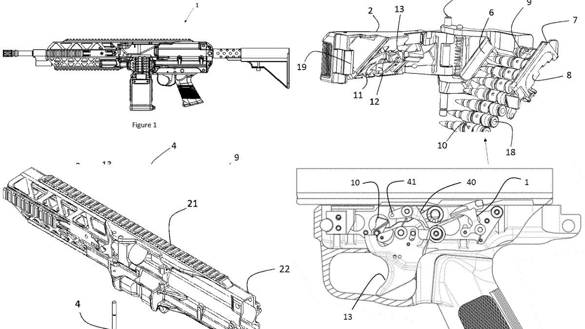 Evolys Machine Gun Patent