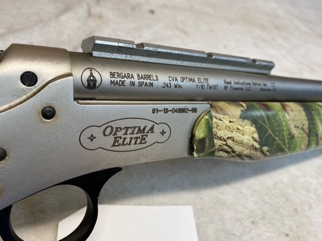 CVA Optima Elite SS Bull Barrel 90%