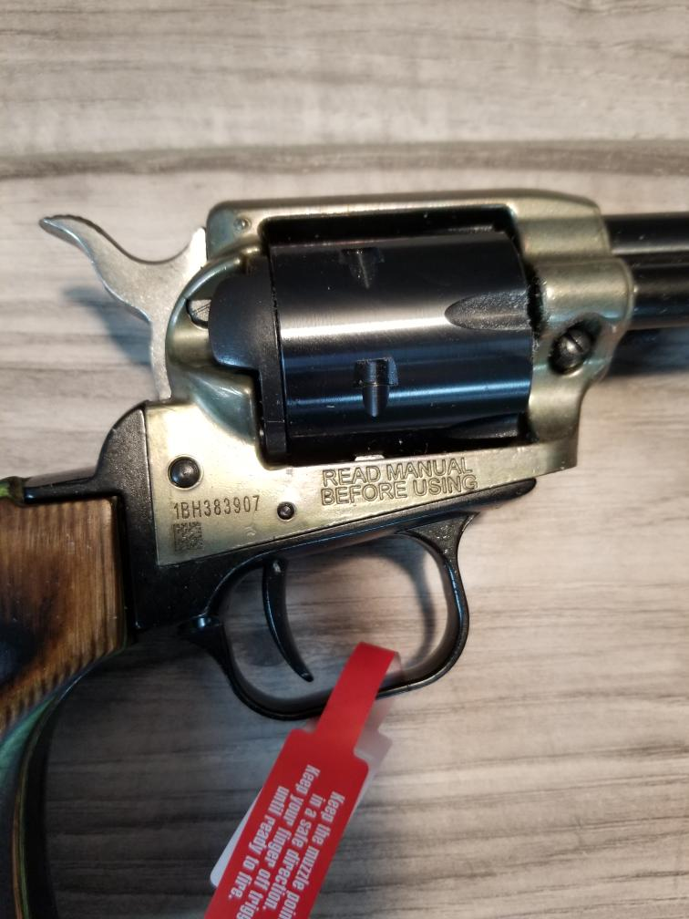 HERITAGE ARMS ROUGH RIDER RR22MCH6