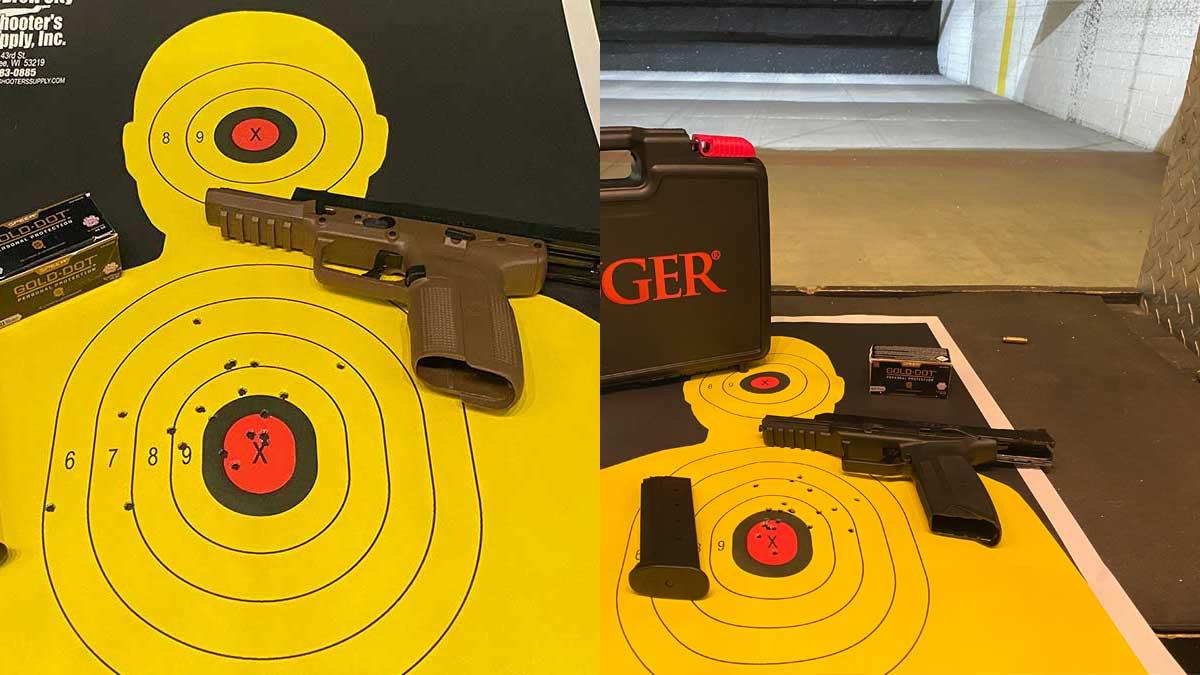 FN five seven vs Ruger-57