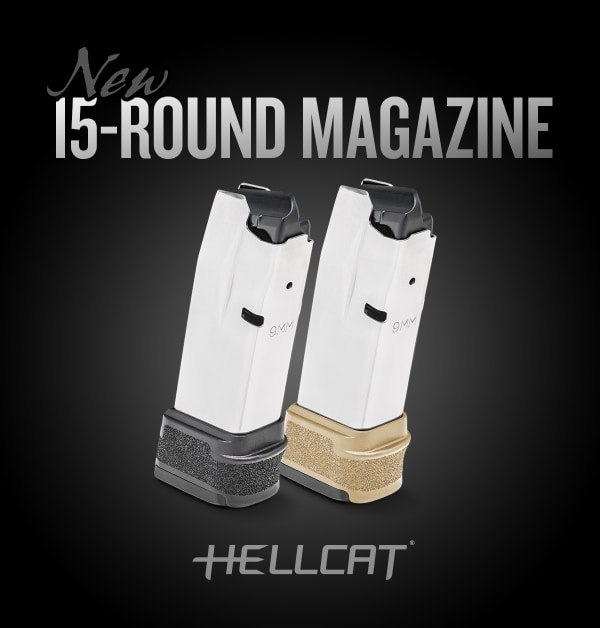 ad for 15 round hellcat magazines