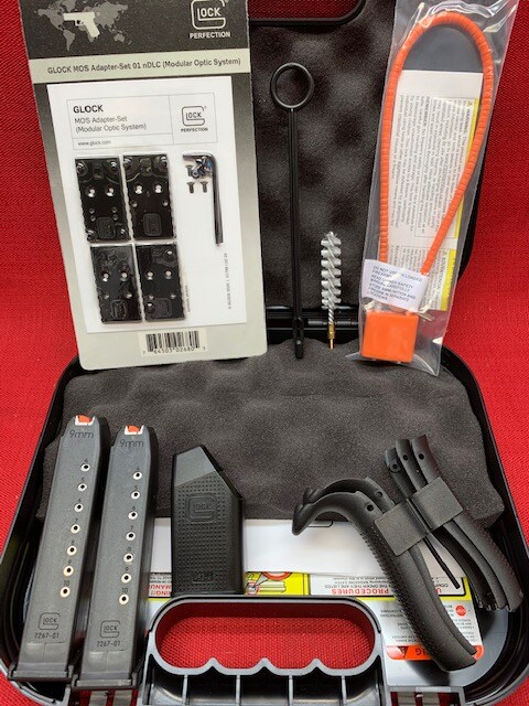 GLOCK 45 G45 9MM MOS 10-ROUND COMPLIANT PA455S201MOS OPTICS READY