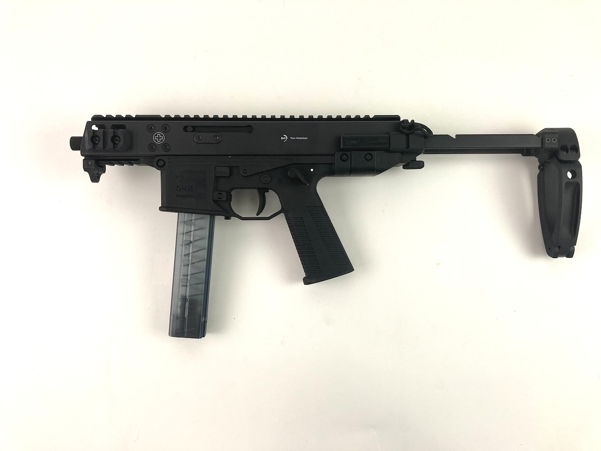 BRUGGER & THOMET GHM9 with PDW Tailhook Arm Brace
