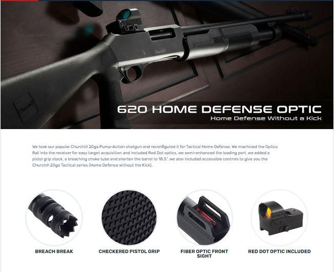 EAA Akkar Churchill 620 Optics Tactical