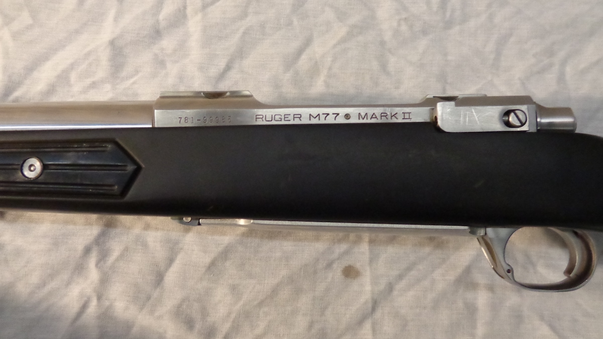 RUGER M77 MARK II STAINLESS