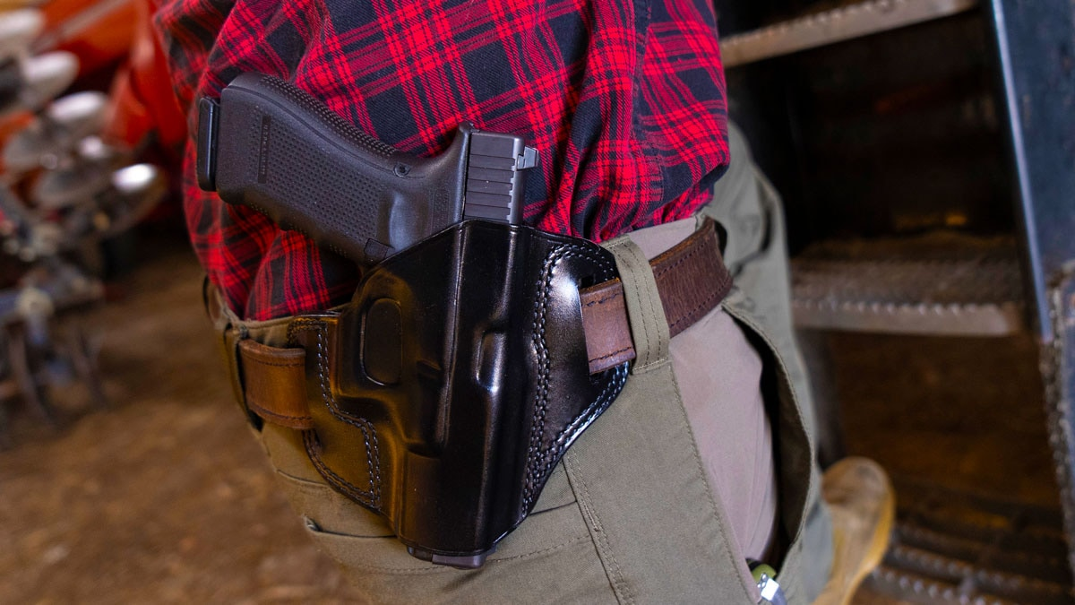 Galco Leather OWB Holster