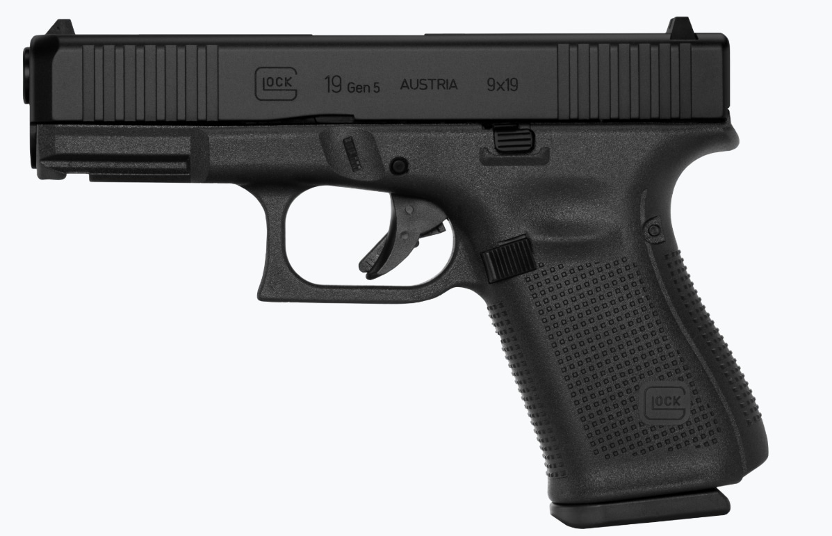 """GLOCK G19 G5 9MM 15+1 4.0"""" FS 3-15RD MAGS   FRONT SERRATIONS 9mm"""