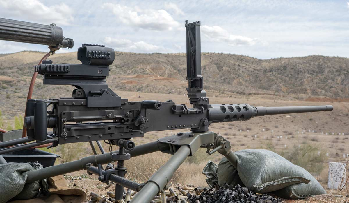 M2 Browning big sandy shoot
