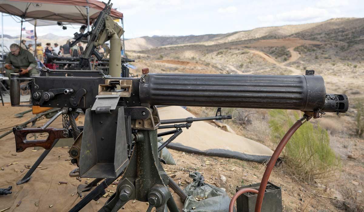 water cooled vickers machine gun