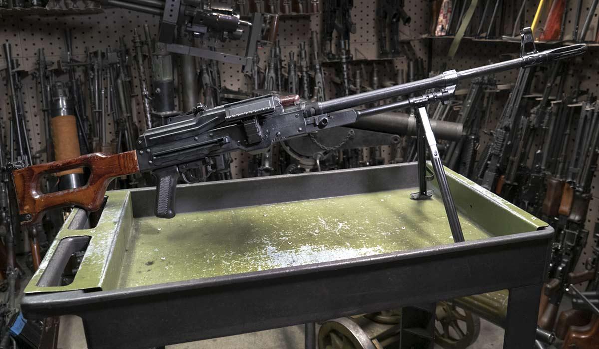 Soviet PKM battlefield vegas