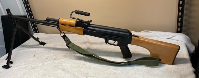 CENTURY ARMS AES-10B RPK47 95% w/Factory Box & Accessories