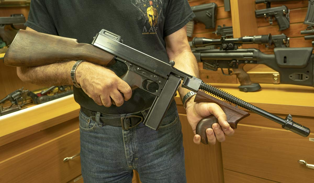 Colt Thompson M1921AC