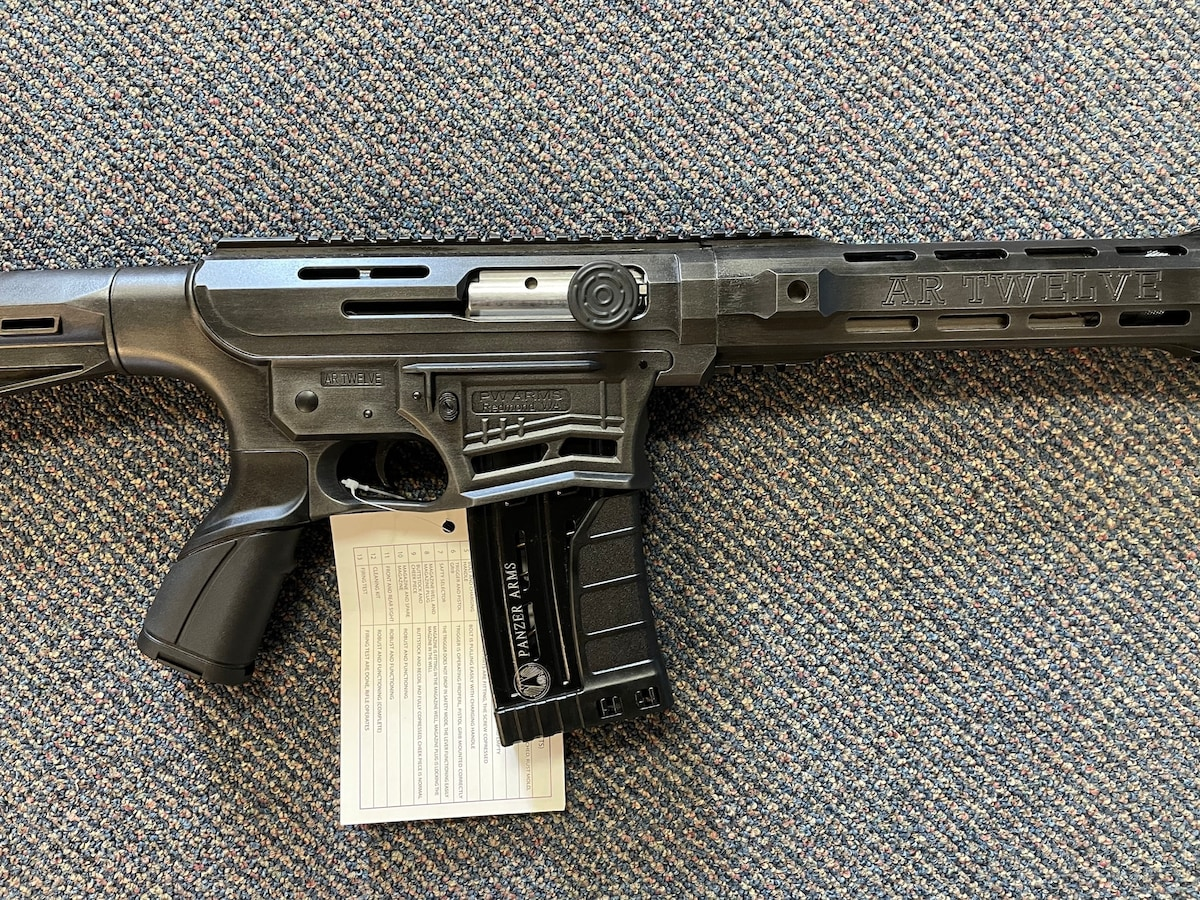 PANZER ARMS PANZER ARMS AR-12 Shotgun Distressed Fume CRA