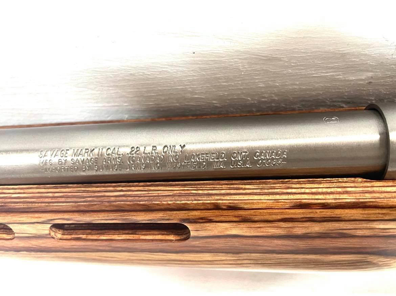 SAVAGE ARMS MARK II Thumbhole Stock