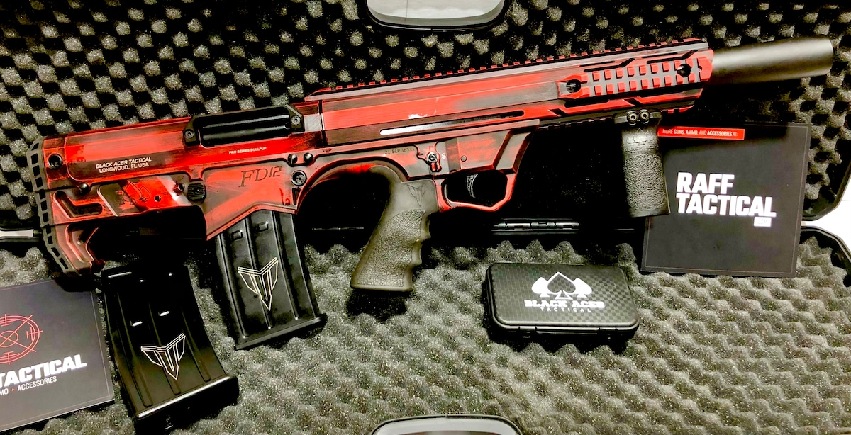 BLACK ACES TACTICAL Bullpup FD-12 Semi-Auto Mag Fed