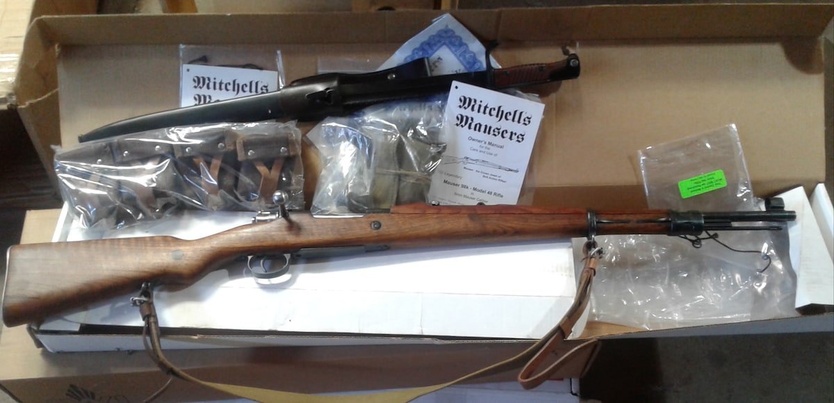 MITCHELL'S MAUSERS M24/47