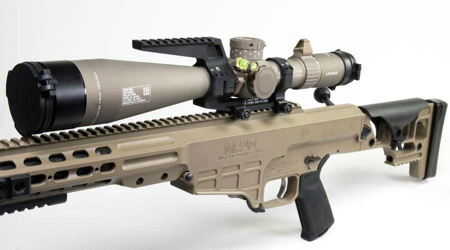 Barrett MK 22 MRAD with Leupold 5HD scope