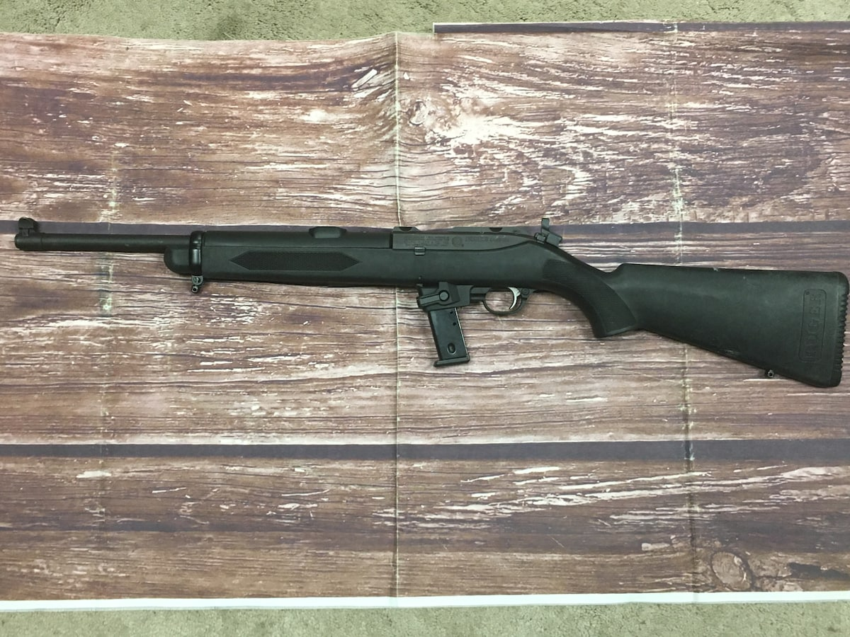 RUGER CARBINE 40s&w POLICE TRADE-IN