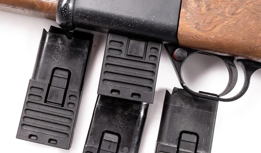 Daisy Legacy model 22LR rifle in lightbox