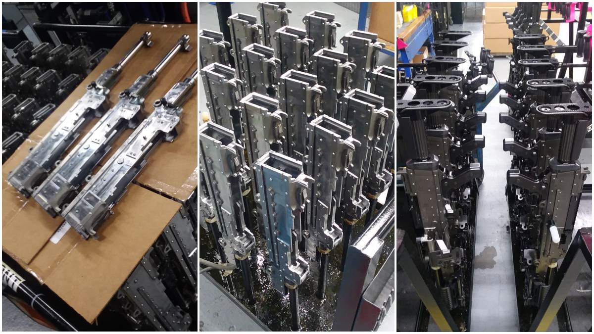 FN M240 GPMG being made