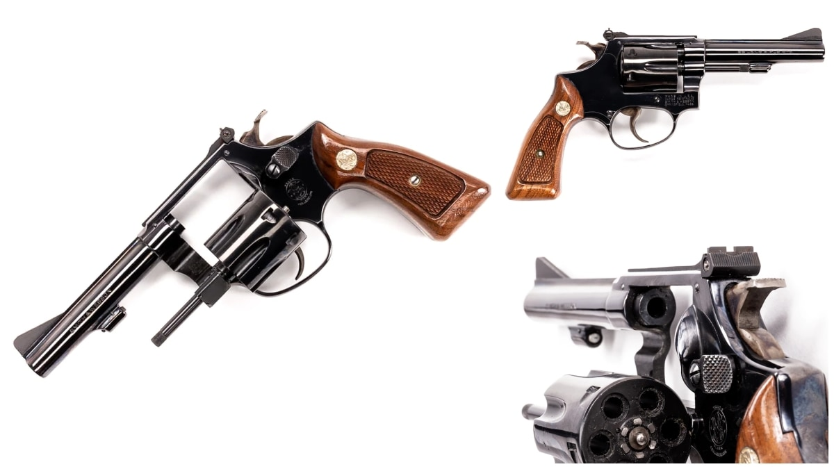 Smith Wesson revolver model 34