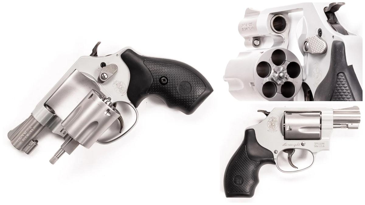 Smith Wesson revolver model 637