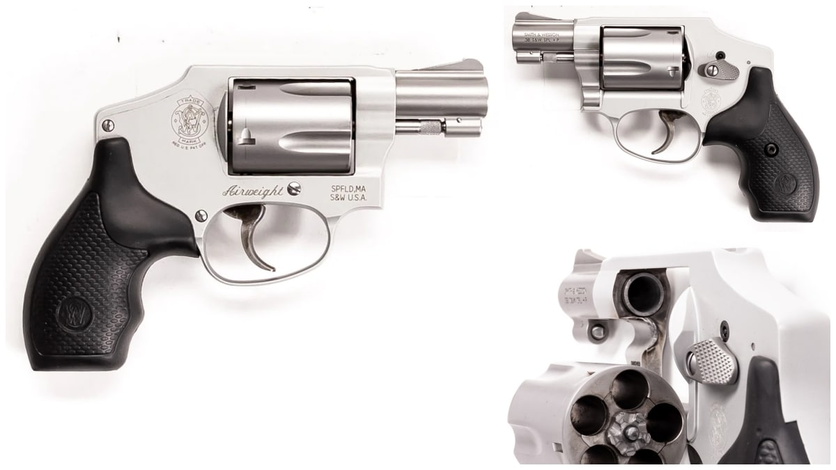 Smith Wesson revolver model 642