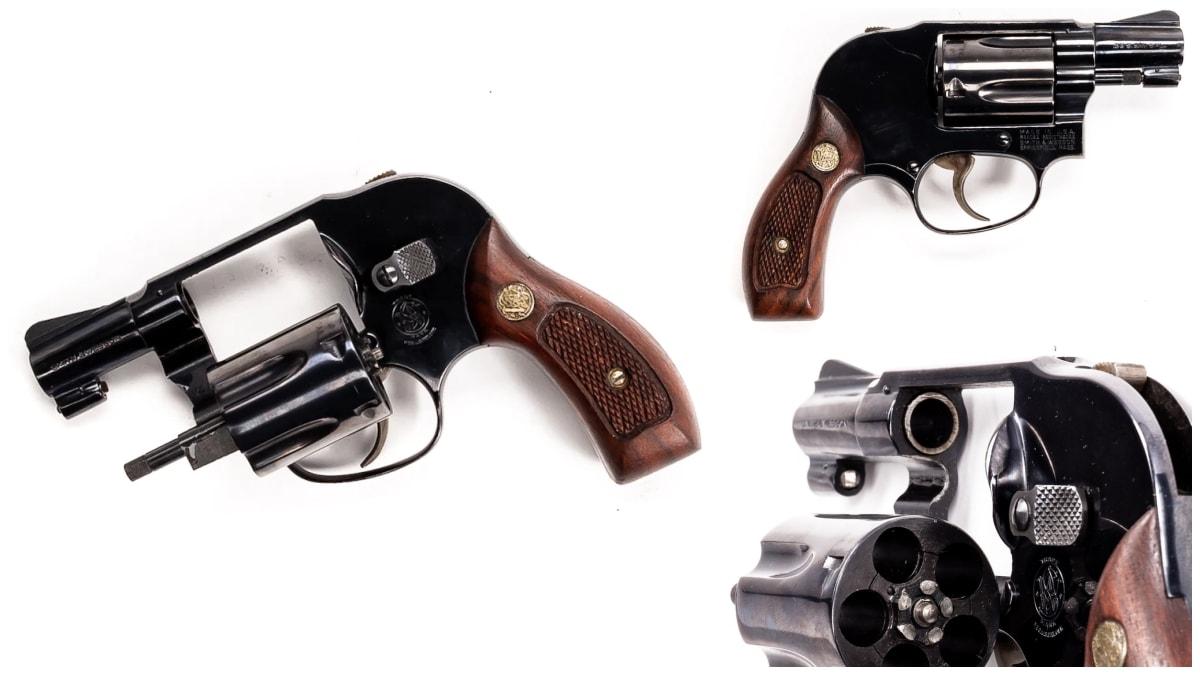 Smith Wesson revolver model 40 Bodyguard