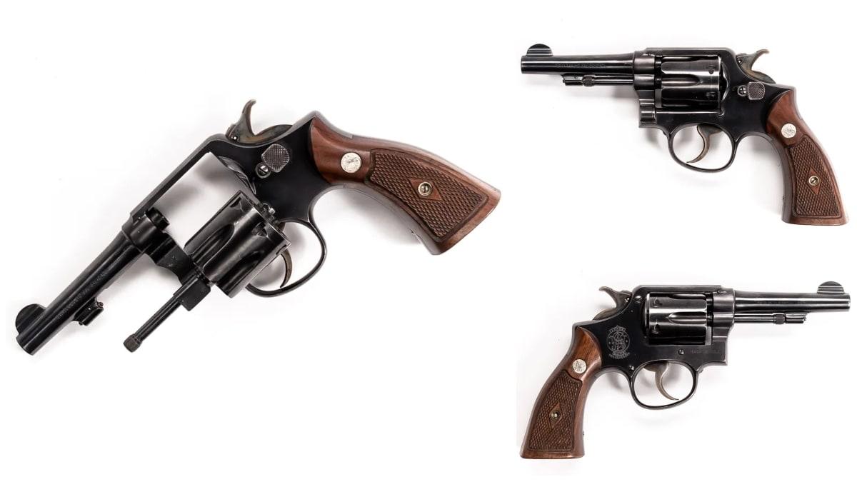 Smith Wesson revolver model M&P