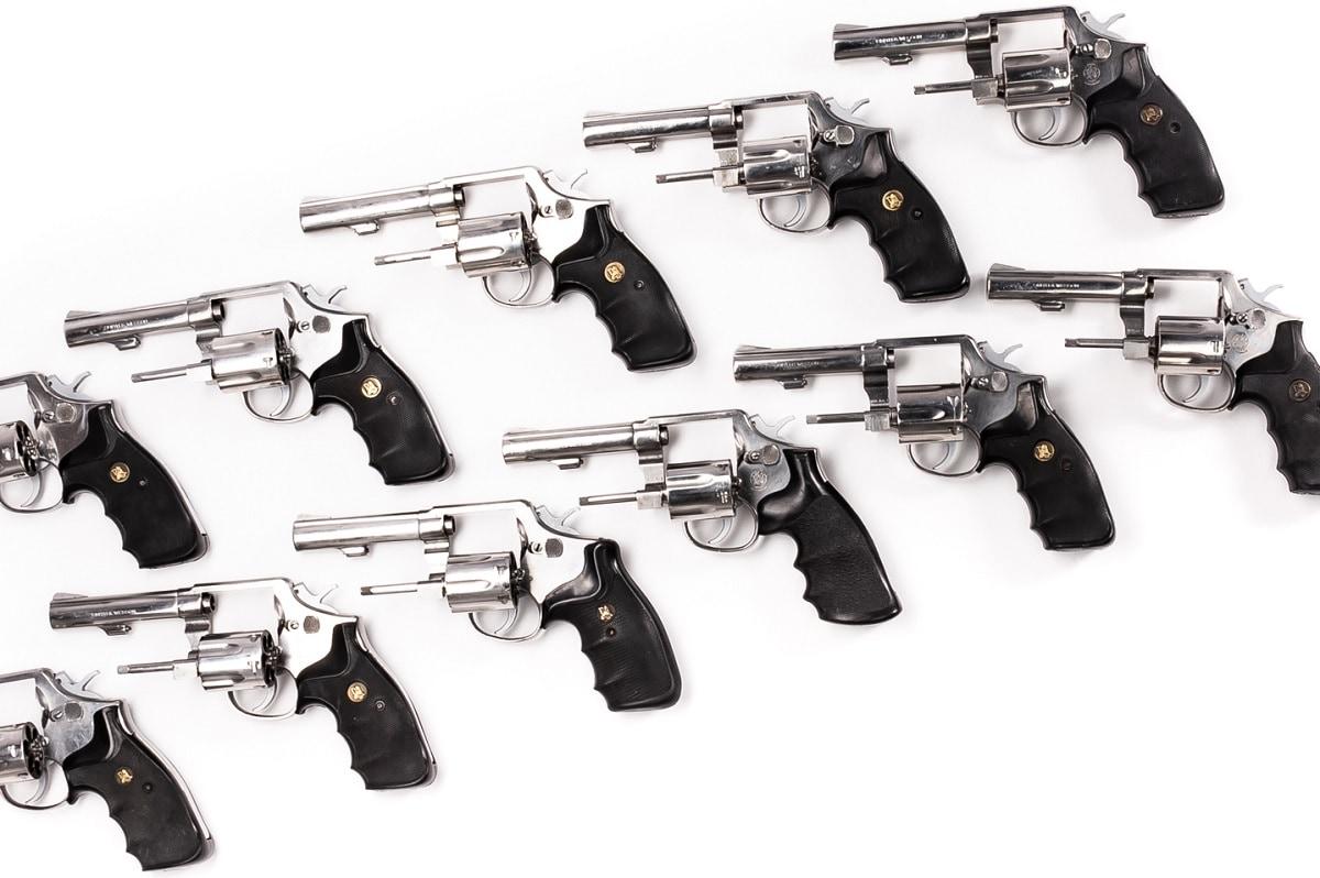 Smith Wesson revolver model 64-1