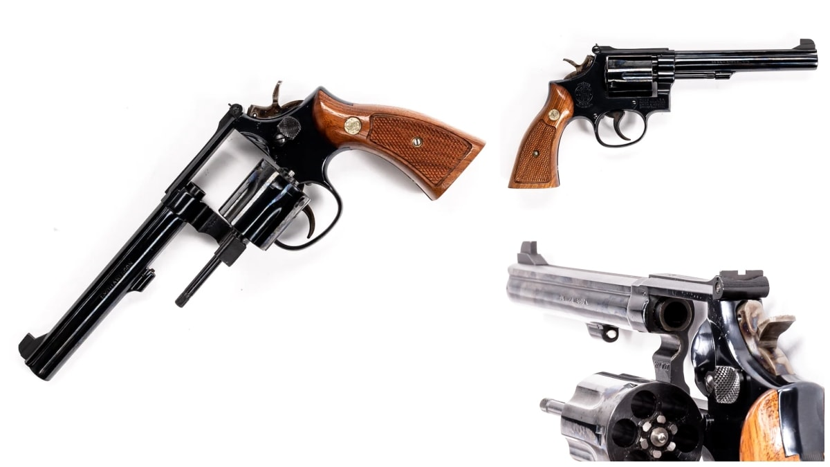 Smith Wesson revolver model 14