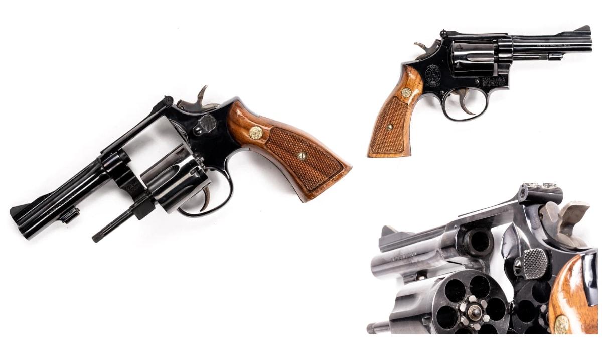 Smith Wesson revolver model 15