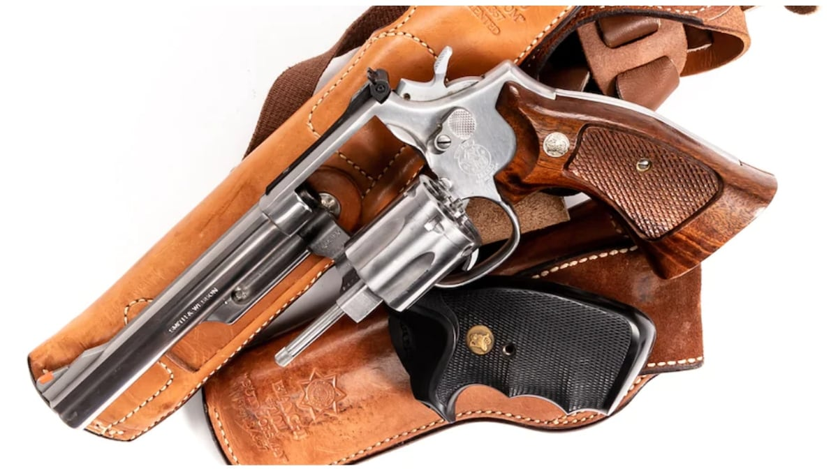 Smith Wesson revolver model 66-2