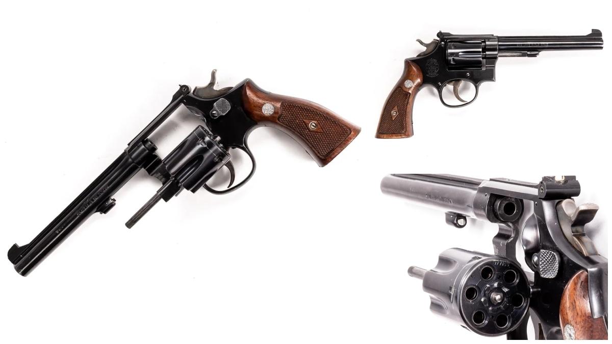 Smith Wesson revolver model 17
