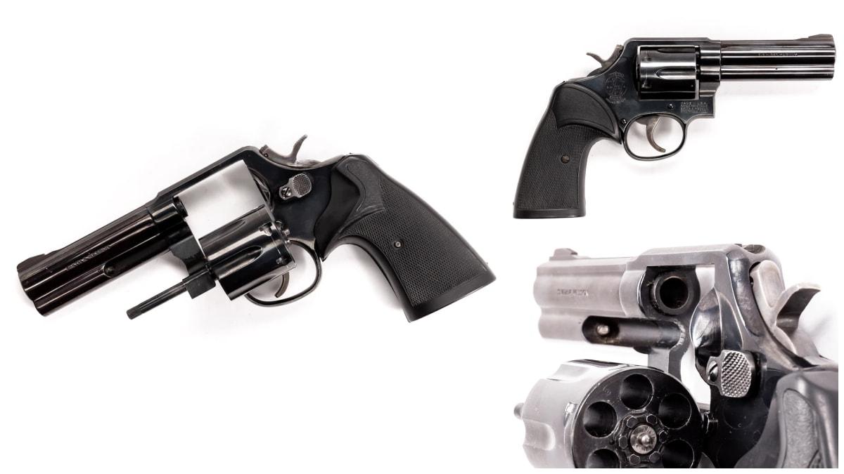 Smith Wesson revolver model 581