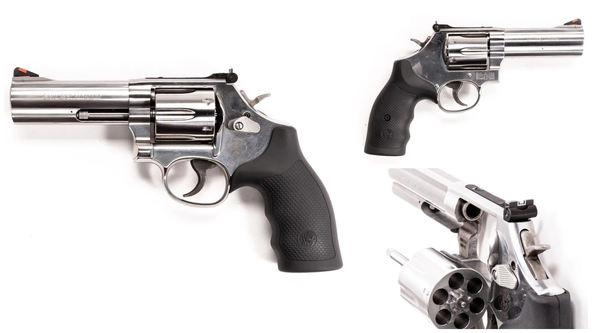 Smith Wesson revolver model 586