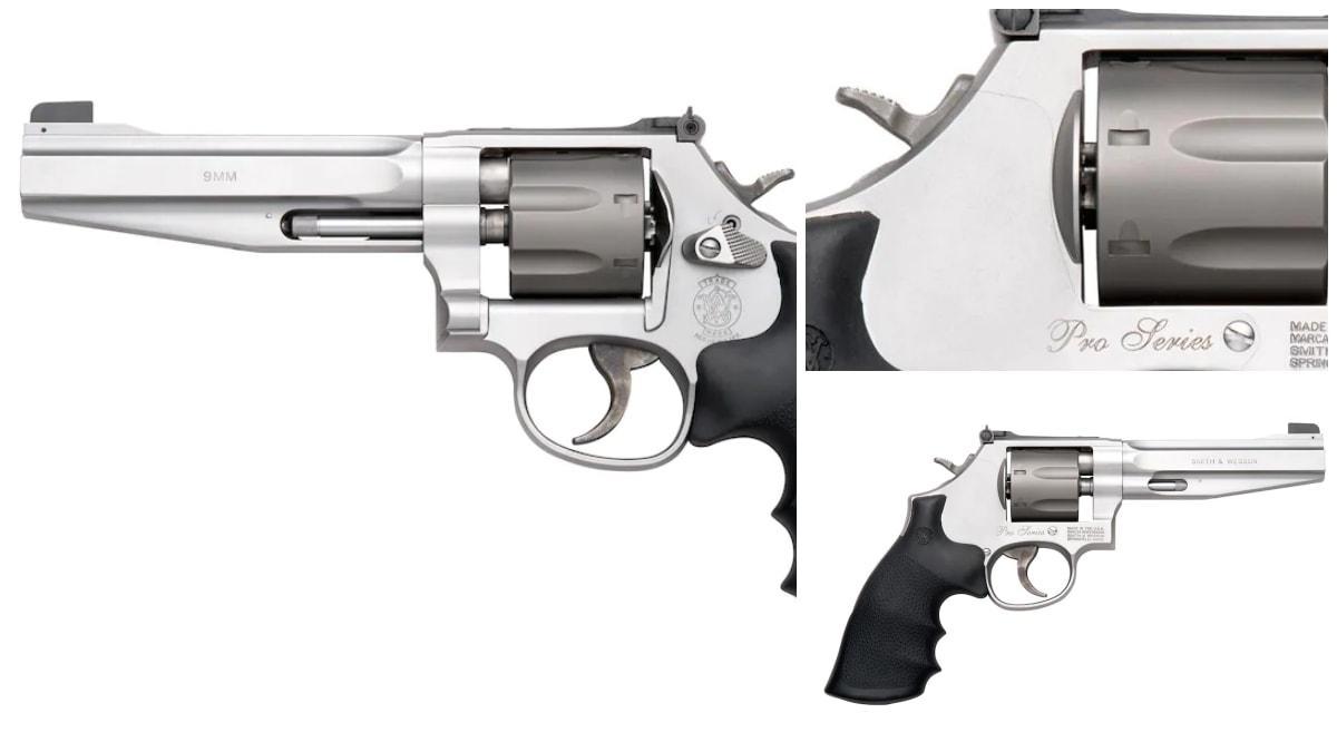 Smith Wesson revolver model 986