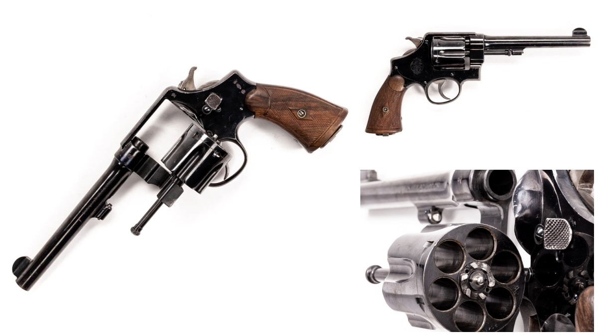 Smith Wesson revolver model 1917
