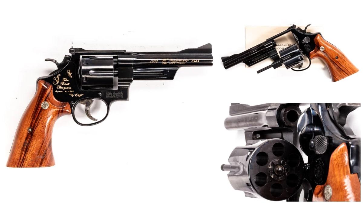 Smith Wesson revolver model 27-3