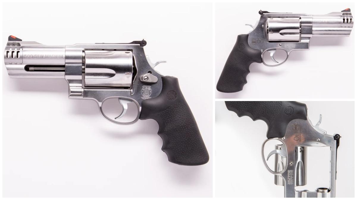 Smith Wesson revolver model 500