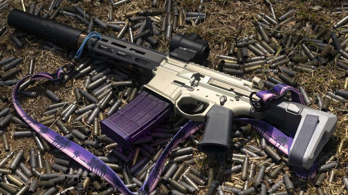 ar15 suppressor ammo trijicon mro iv8888 range day