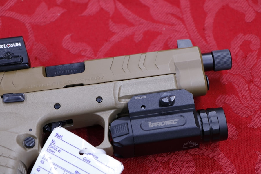 SPRINGFIELD ARMORY XD-M ELITE TACTICAL OSP