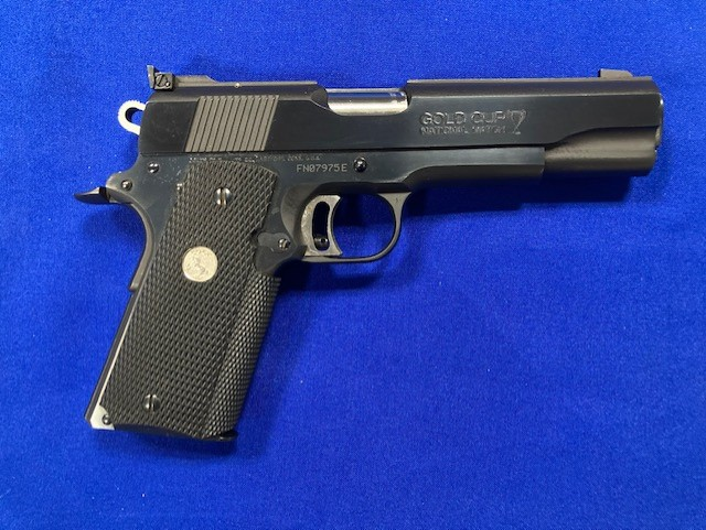 COLT 1911 Gold Cup National Match Series 80 MKIV